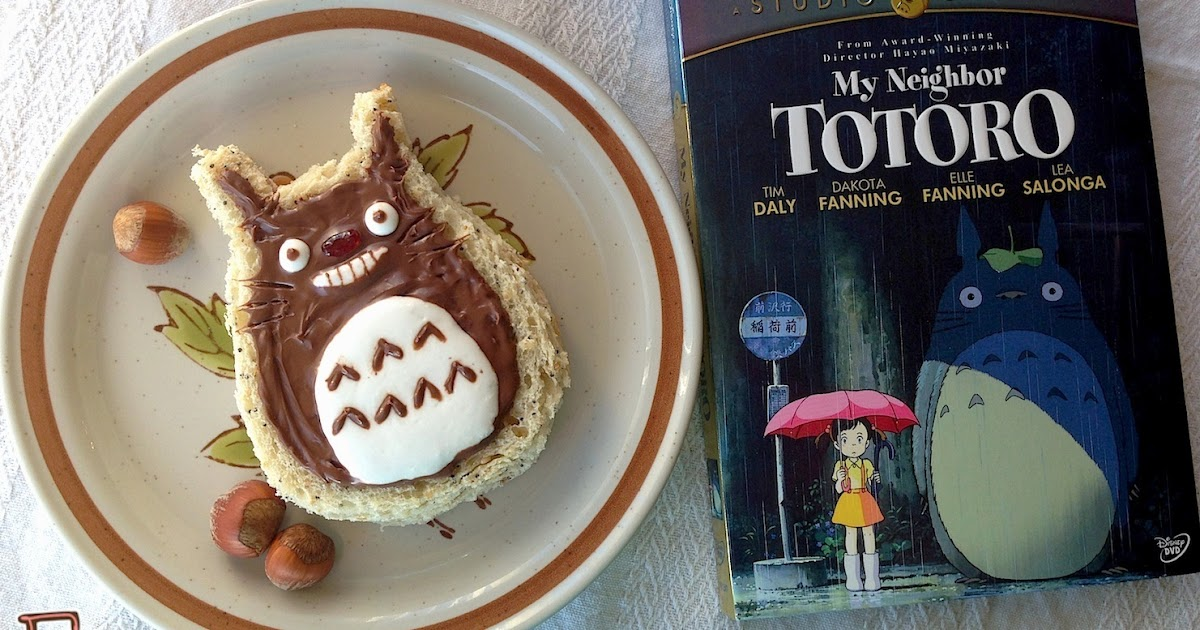 "Fiction-Food Café: Totoro Dessert Sandwich for ""My ..."