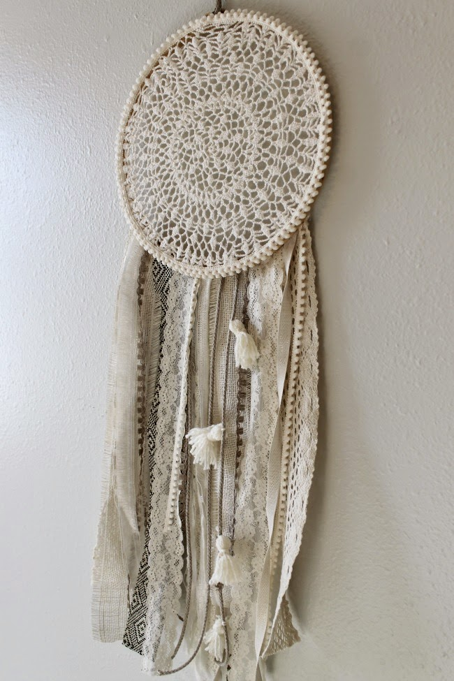 inspired by pinterest dream catchers diy
