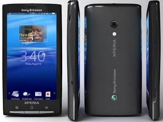 Sony Xperia X10 User Manual