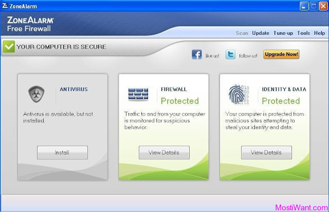 Download ZoneAlarm Free Firewall 2013 Offline Installer