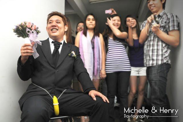 Michele henry wedding