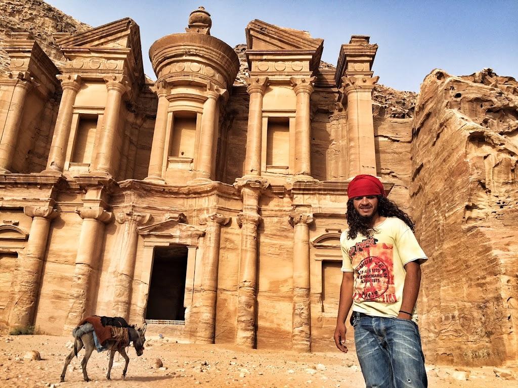 Bedouin man in Petra