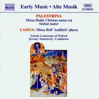 Grupos Vocales - Vocal Groups: Palestrina - Missa & Motet Hodie ...