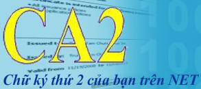 Chữ ký số CA2 NACENCOMM