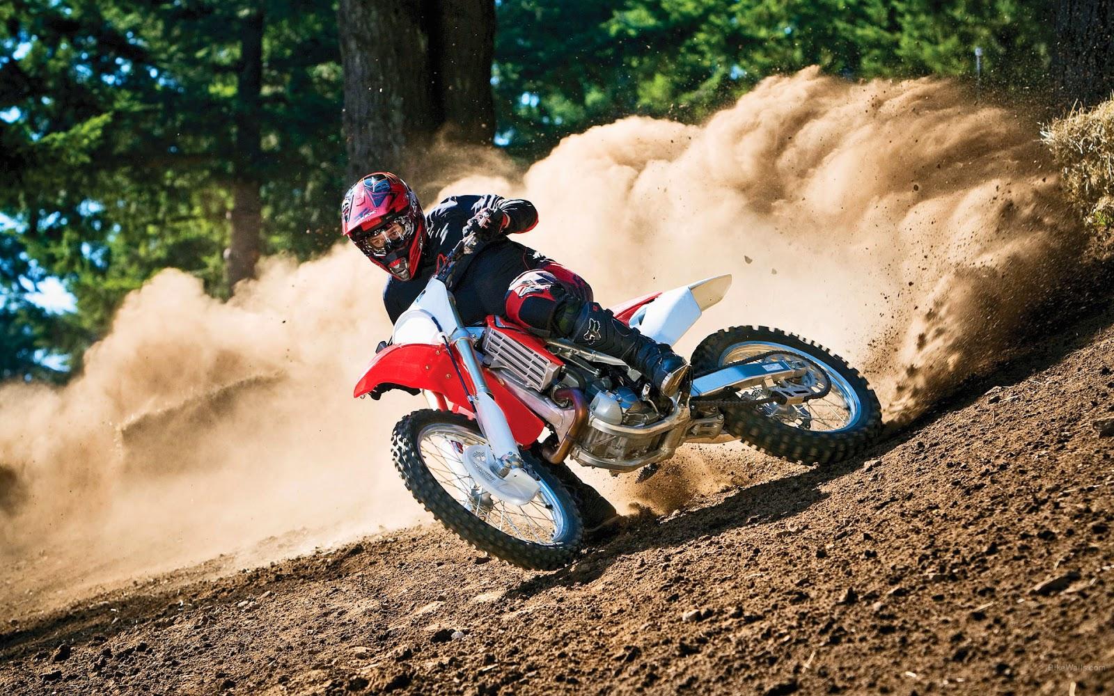 Wallpapers Honda Motorcross CRF Dirt Bike Images