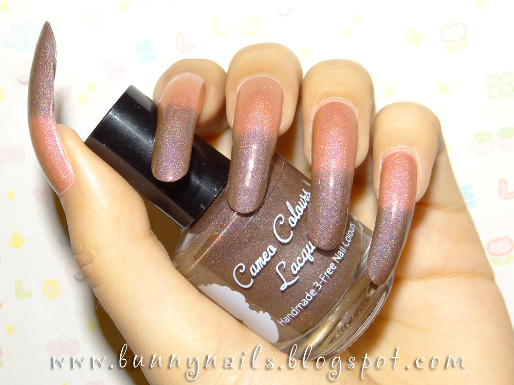 modern nail color: Cameo Colours Lacquers - Poison Apple - Thermal ...