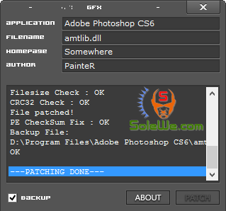 adobe photoshop cs6 crack dll file