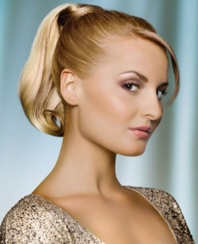 Vampy Hair Highlights Idea 2014
