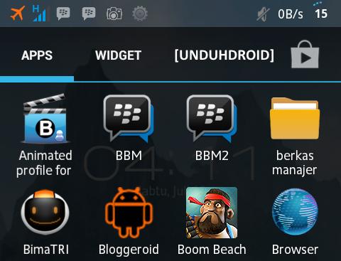 Cara Mudah instal 2 BBM di Android