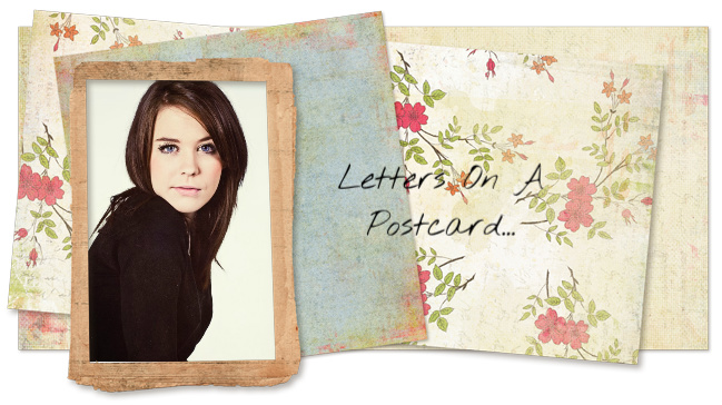 Letters On A Postcard