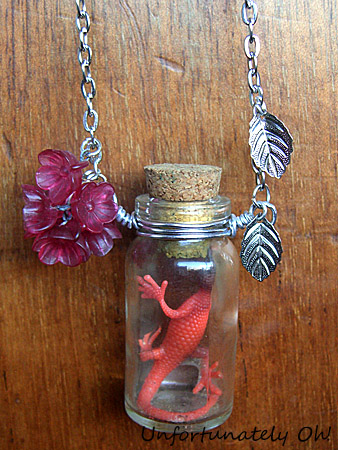 cult party kei inspired bottle necklace tutorial