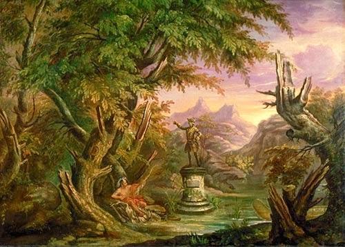 Le chardon dans la vallée
