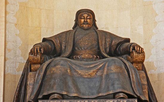 Temujin dikenali sebagai Khan Pertama Monggol - Genghis Khan