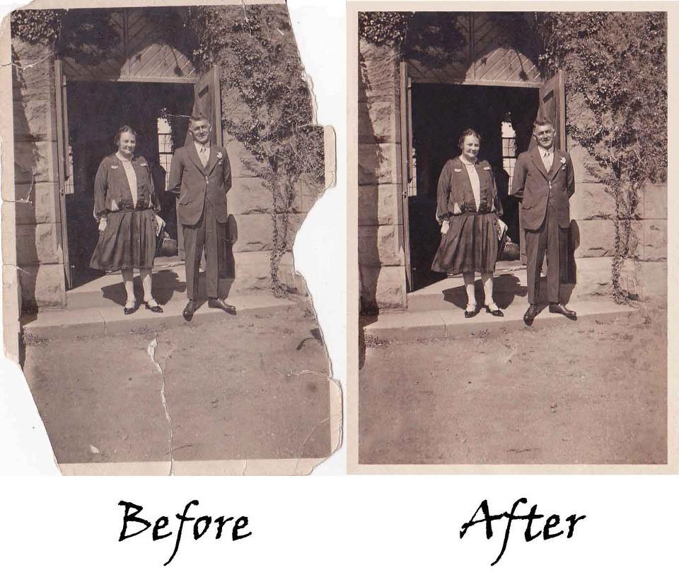 photography as i am digital restoration of photos fading rips