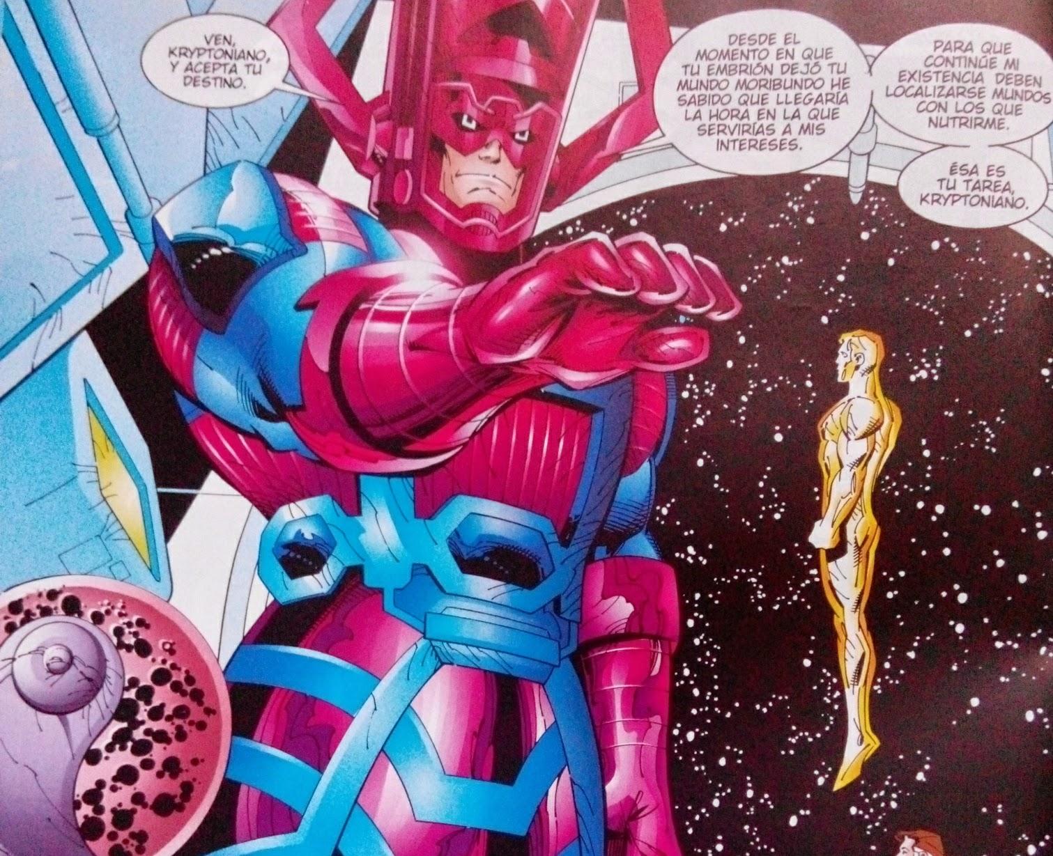 Superman heraldo de Galactus