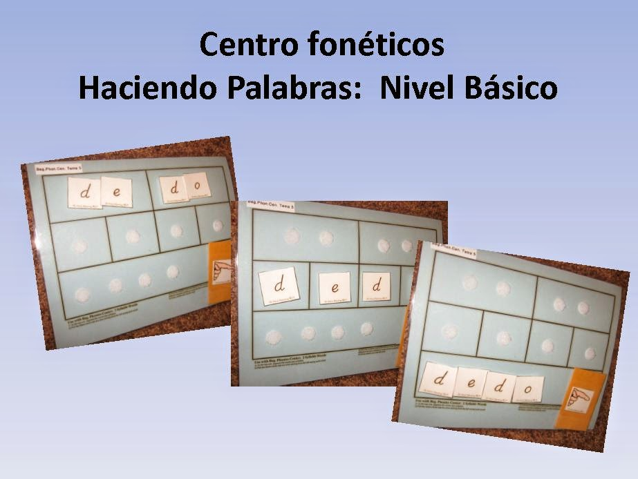 http://www.teacherspayteachers.com/Product/Spanish-Centro-Foneticos-003-haciendo-palabras-Nivel-Basico-DIGITAL-500078