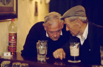 two old guys at a bar