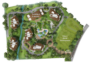 Kasa Luntian Tagaytay Site Development Map