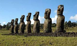 Pulau Paskah Moai