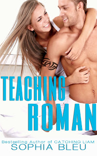 **COVER REVEAL & GIVEAWAY** for TEACHING ROMAN by Sophia Bleu