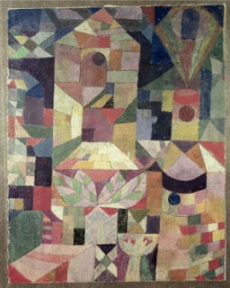 Paul Klee painting - Castle Garden