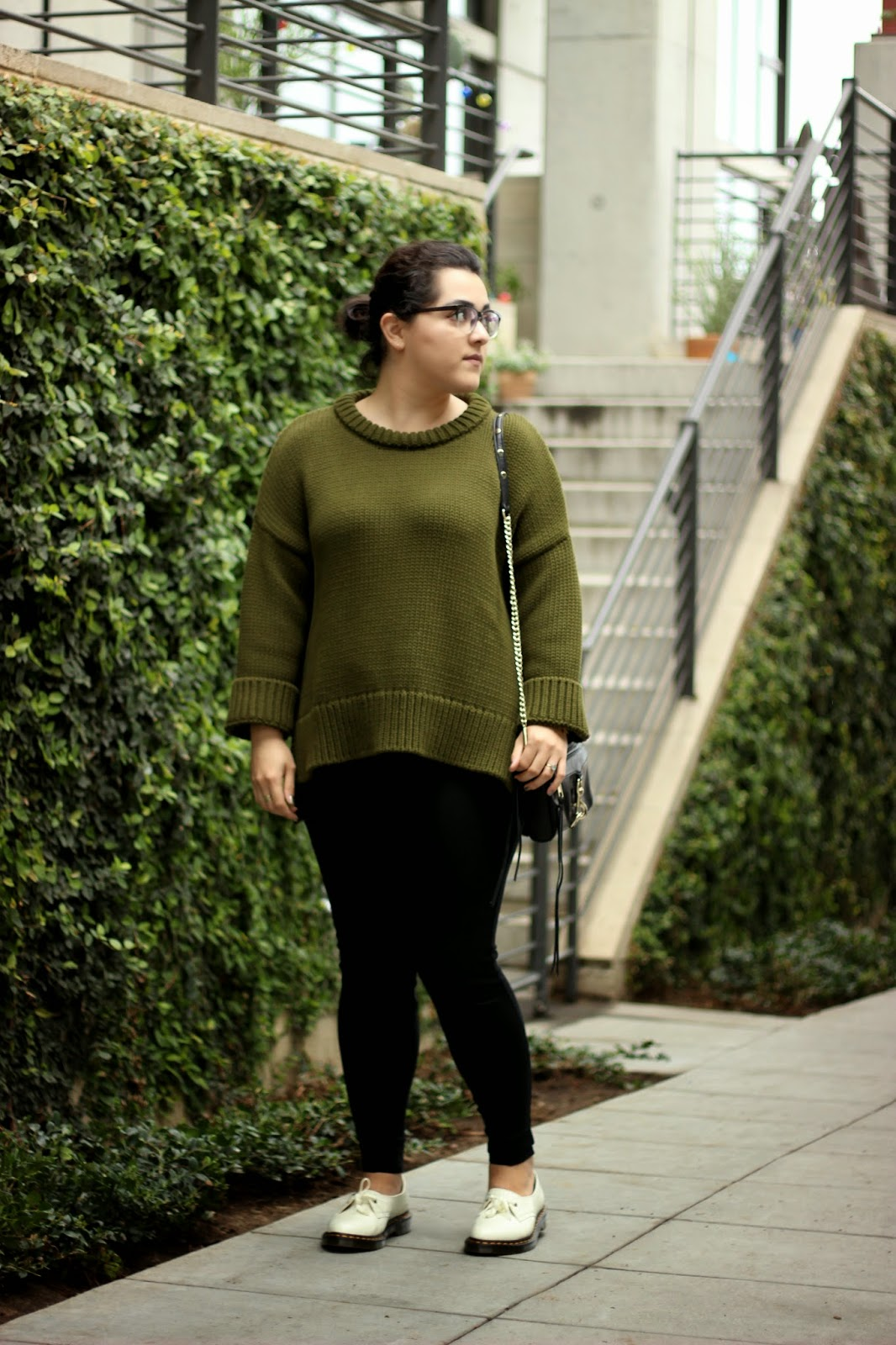 Outfit of the Day | Back in Green