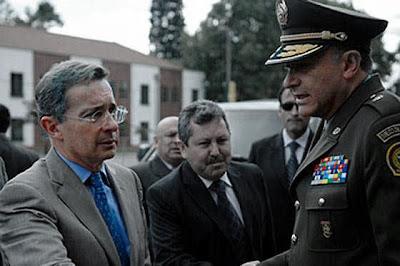 Uribe Vélez y el General Naranjo
