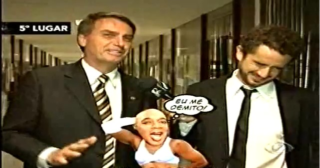 CQC mostra escandalos em Brasília