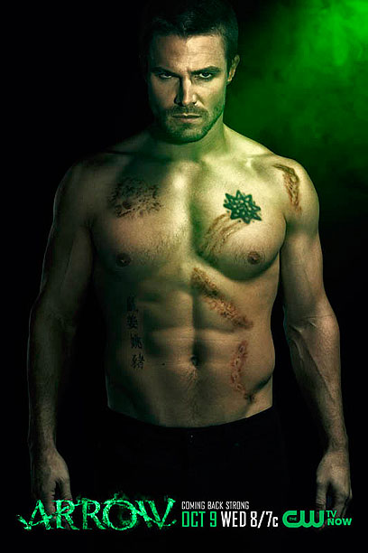 arrow stephen amell oliver queen shirtless naked sexy hot guys comic book