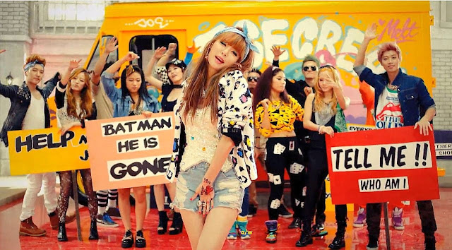 Watch HyunA's Ice Cream mv and read my review.