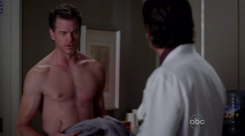 Eric Dane Shirtless in Greys Anatomy s8e13