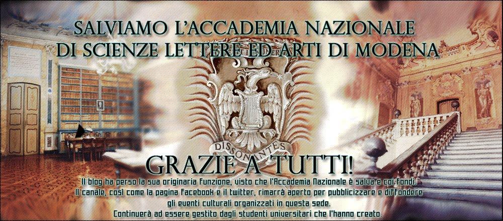 Salviamo l'Accademia Nazionale SLA di Modena