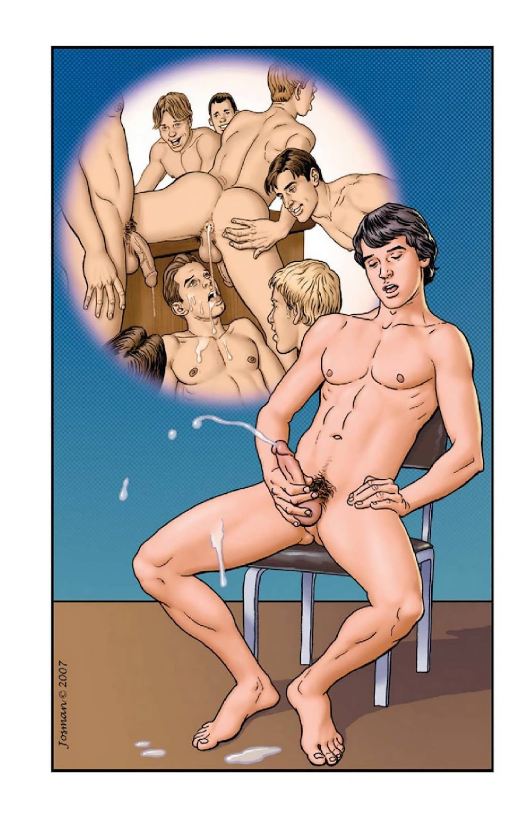 gay dad cartoon son porn