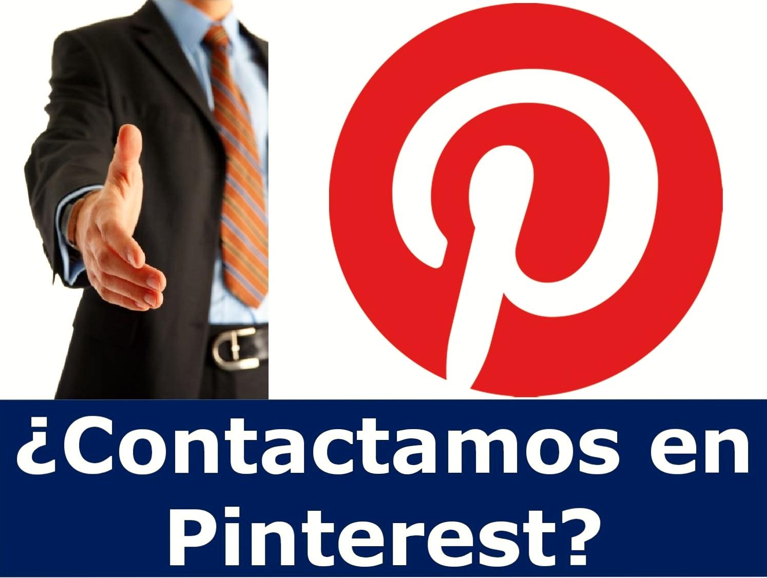 ¿Contactamos en Pinterest?