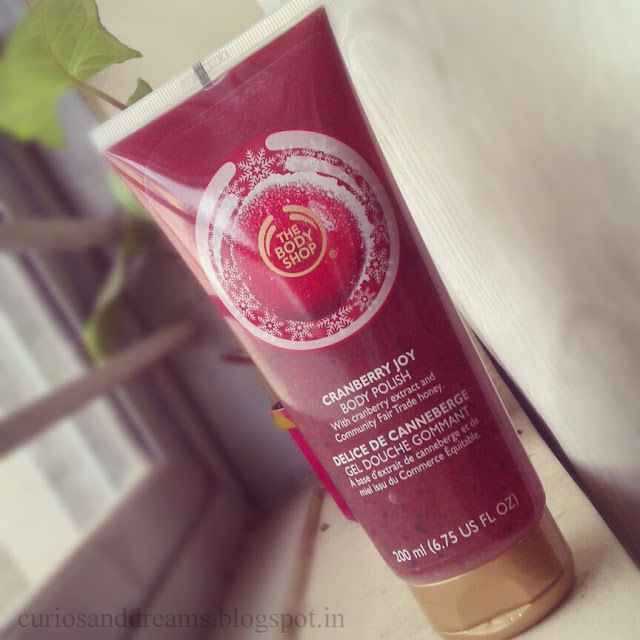 The Body Shop Cranberry Joy Body Polish Review
