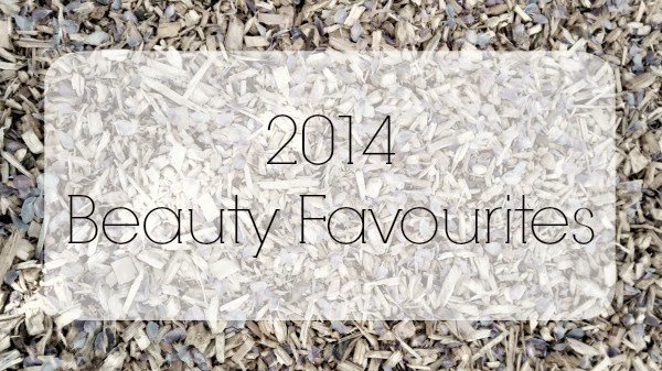 2014 Beauty Favourites