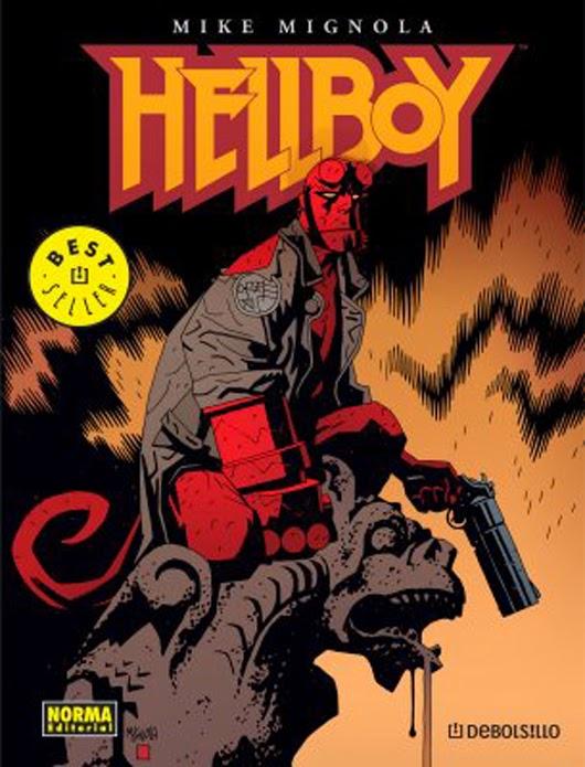 portada de comic de Hellboy