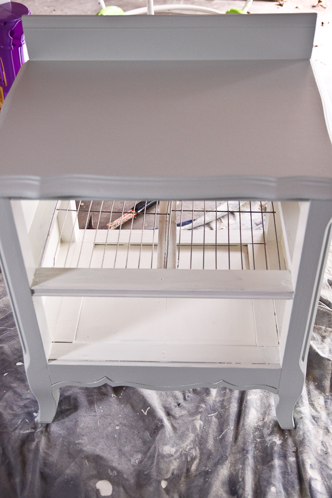 The Farmeru0027s Nest: How To Make A Play Kitchen Set Out Of A Pair Of  Nightstands {DIY}