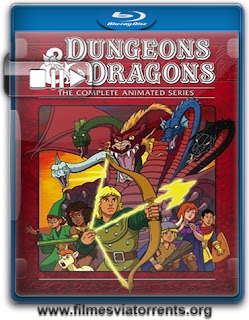 Caverna Do Dragão 1ª a 3ª Temporada Torrent - BluRay Rip
