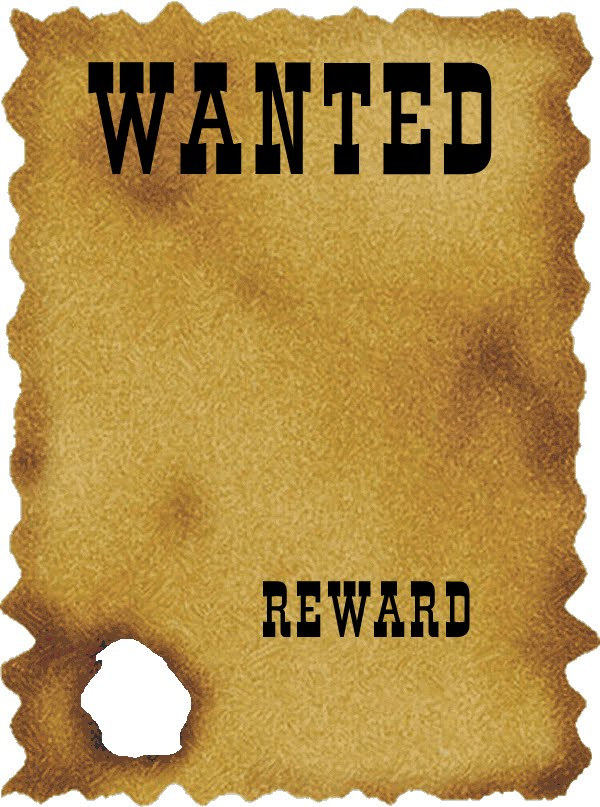 most wanted poster template – Most Wanted Posters Templates