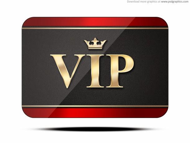 VIP Card Template PSD