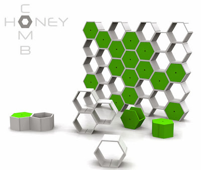 Creative Honeycomb Inspired Designs and Products (15) 14