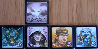 Voluspa - The 4 characters from the expansion