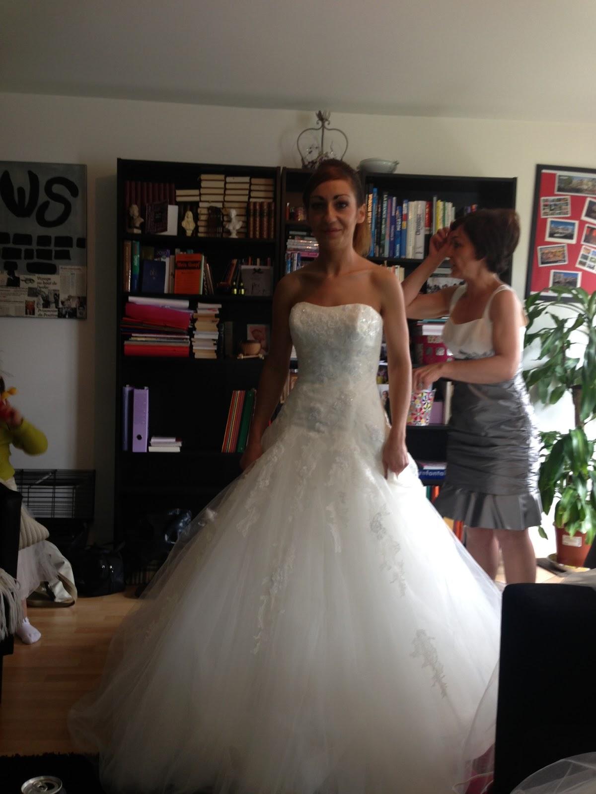 Ma robe de mariee sur mesure