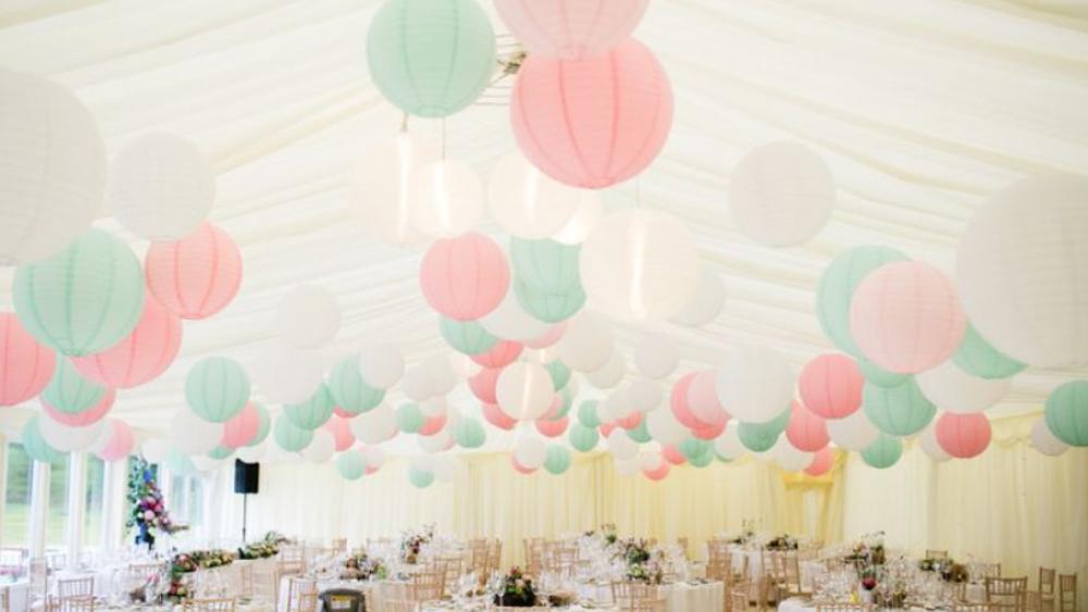 Pastel lanterns | The Hanging Lantern Company