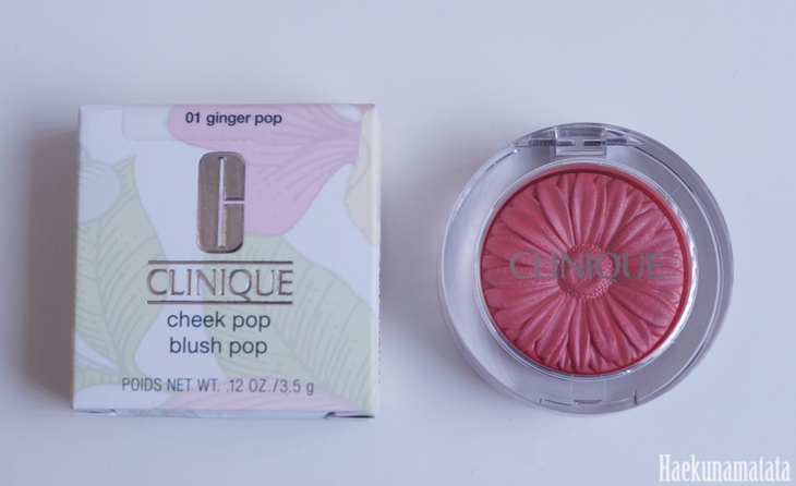 Clinique Cheek Pop in Ginger Pop Review and Swatch