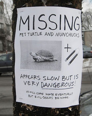 hilarious missing signs