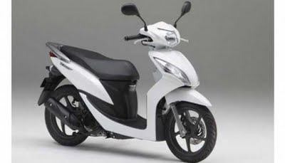 honda spacy modif minimalis warna hijau