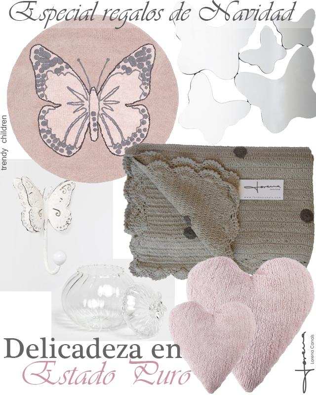 especial regalos de navidad decoración infantil mariposas