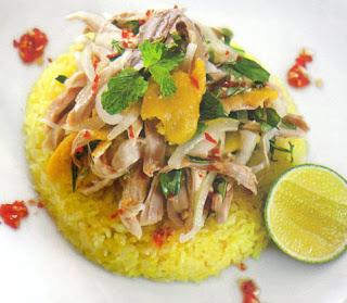 Cơm gà Tam Kỳ say mê thực khách